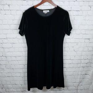 Impressions Black Velvet Dress